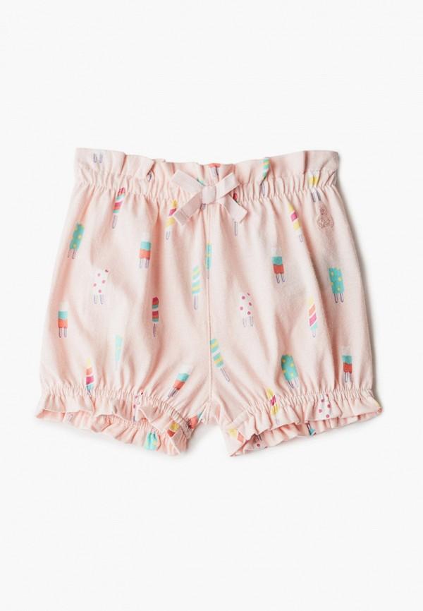 шорты gap для девочки, розовые