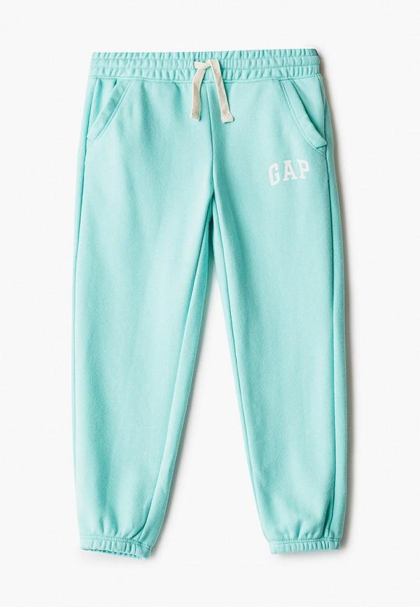 спортивные брюки gap для девочки, голубые