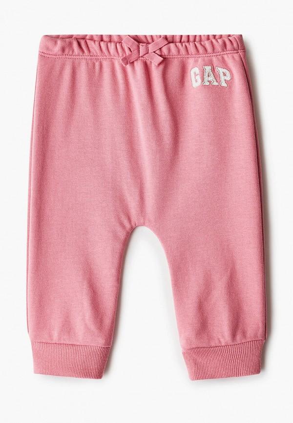 спортивные брюки gap для девочки, розовые