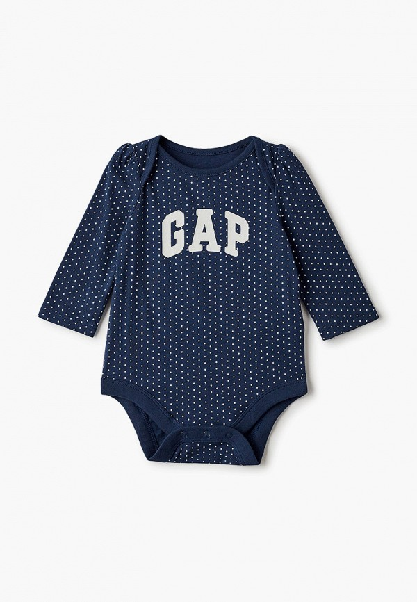 боди gap для девочки, синие