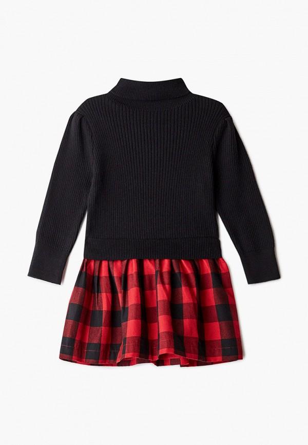 повседневные платье gap для девочки, черное