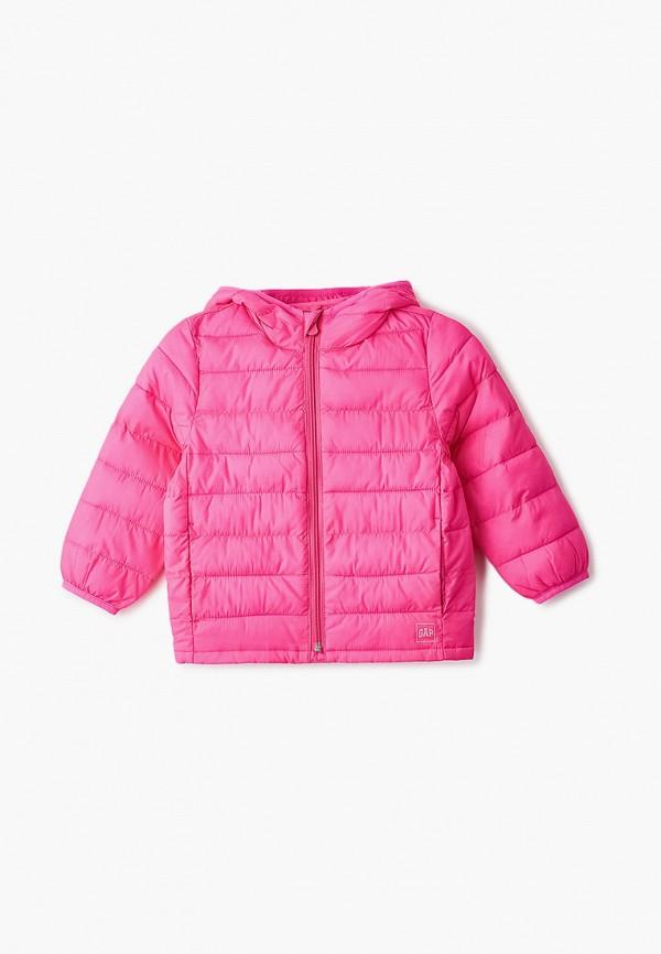 куртка gap для девочки, розовая