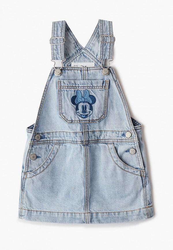 платье gap для девочки, голубое