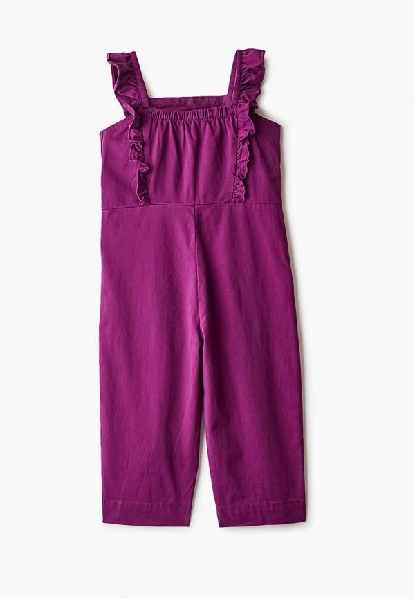 комбинезон gap для девочки, фиолетовый