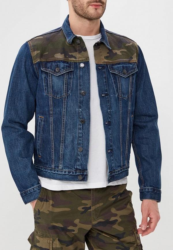 купить Куртка джинсовая Gap Gap GA020EMAGVM6 по цене 4940 рублей