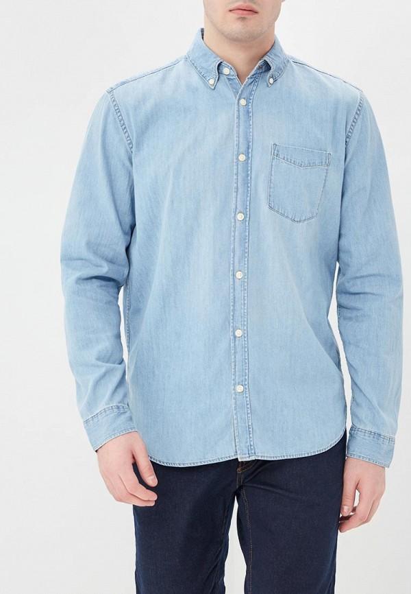 Купить Рубашка джинсовая Gap, GA020EMAGVM9, голубой, Весна-лето 2018