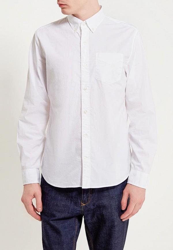 Купить мужскую рубашку Gap белого цвета