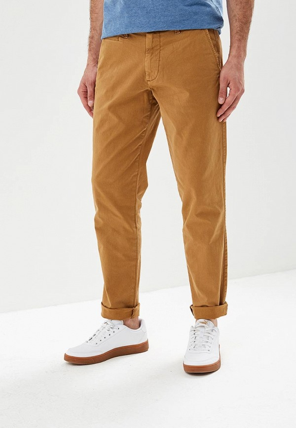 мужские повседневные брюки gap, коричневые