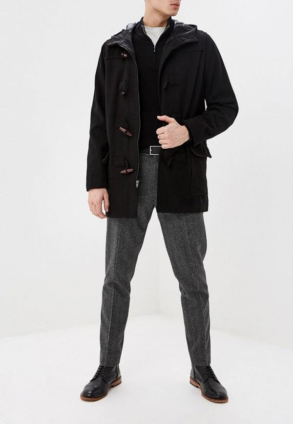 Фото 2 - мужское пальто или плащ Gap черного цвета