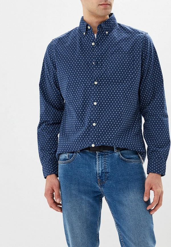 Купить Рубашка Gap, ga020embszu9, синий, Осень-зима 2018/2019