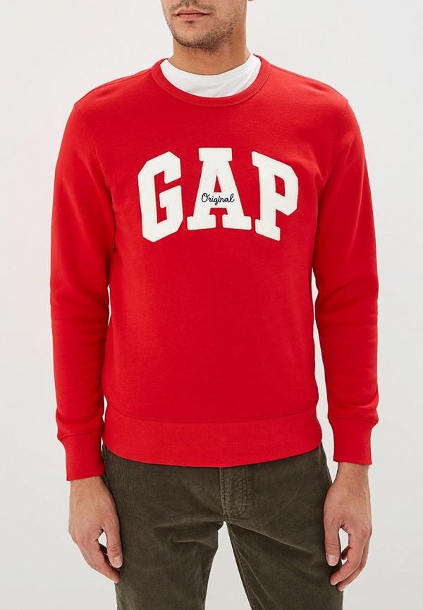 мужской свитшот gap, красный