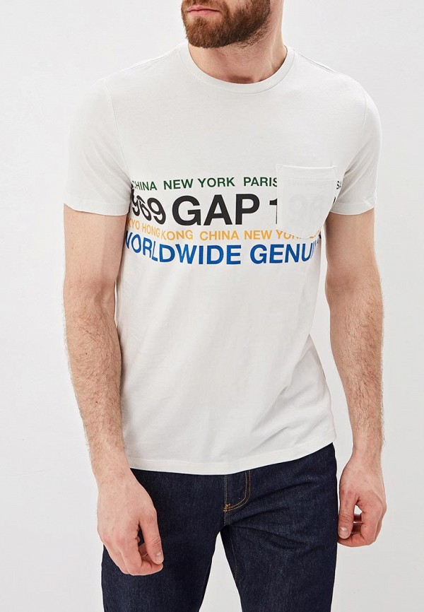 Футболка Gap Gap GA020EMEFZV6 футболка gap gap ga020ewbfth7