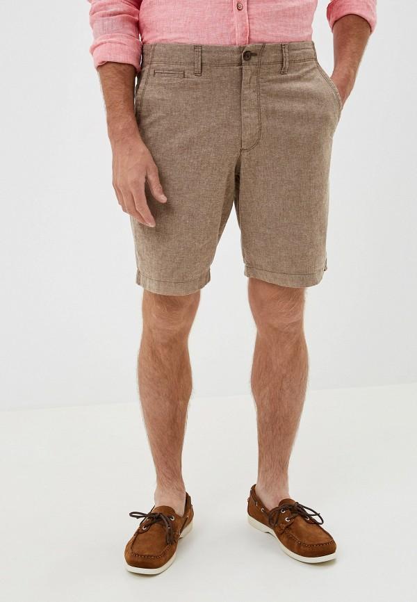 мужские повседневные шорты gap, коричневые