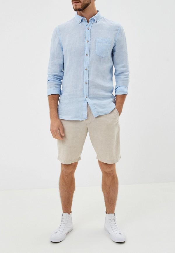 Фото 2 - мужские шорты Gap бежевого цвета