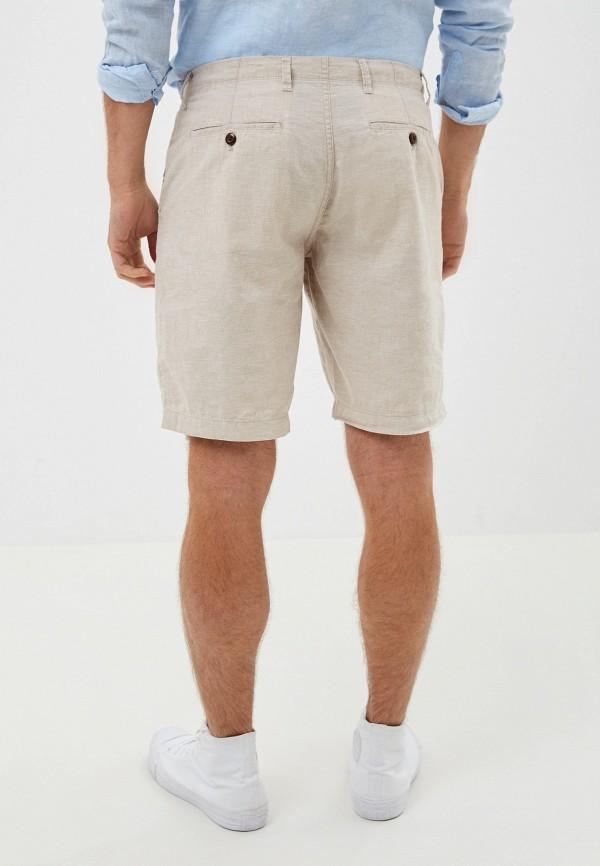 Фото 3 - мужские шорты Gap бежевого цвета