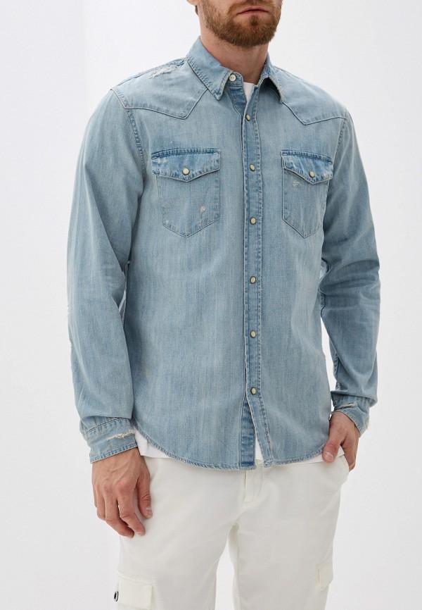 Фото - Рубашку джинсовая Gap голубого цвета