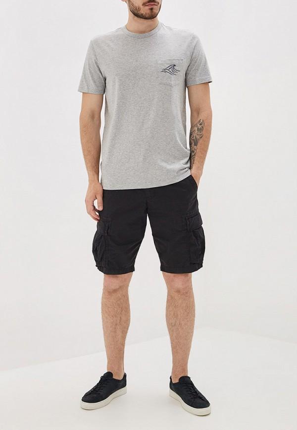 Фото 2 - мужскую футболку Gap серого цвета