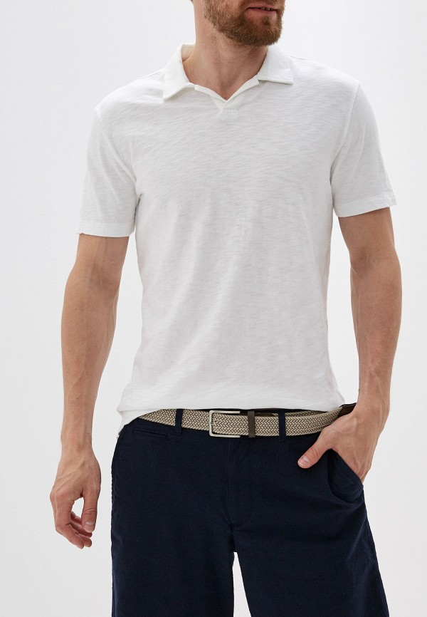 Фото - мужское поло Gap белого цвета