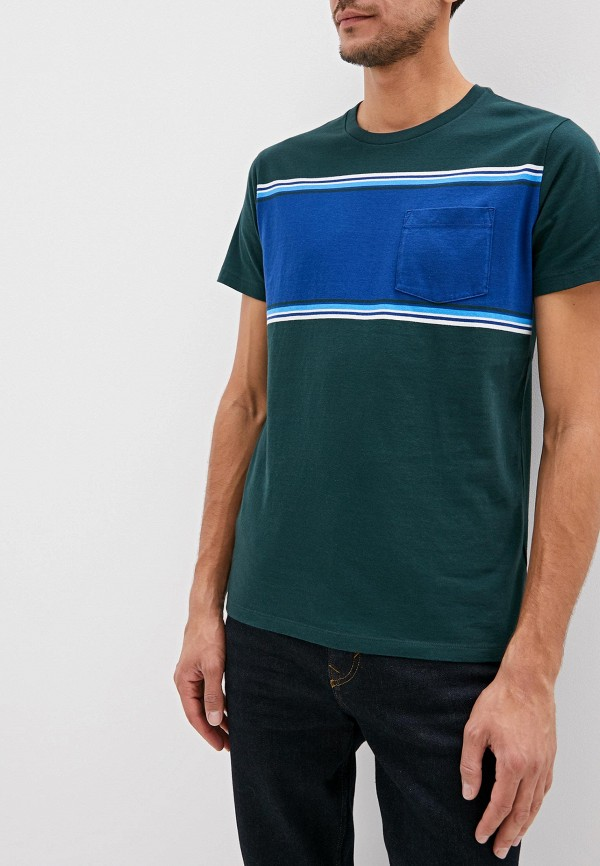 Фото - мужскую футболку Gap зеленого цвета