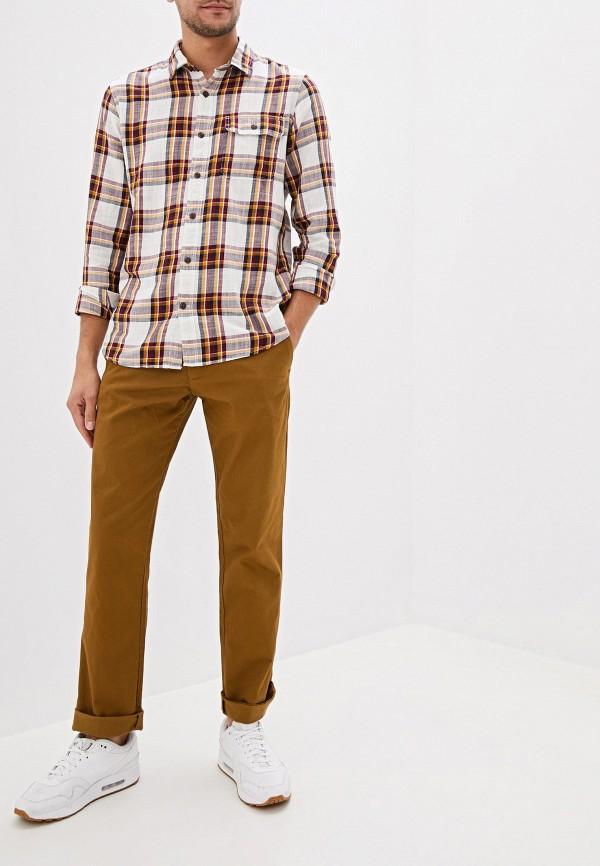 Фото 2 - Чиносы Gap коричневого цвета