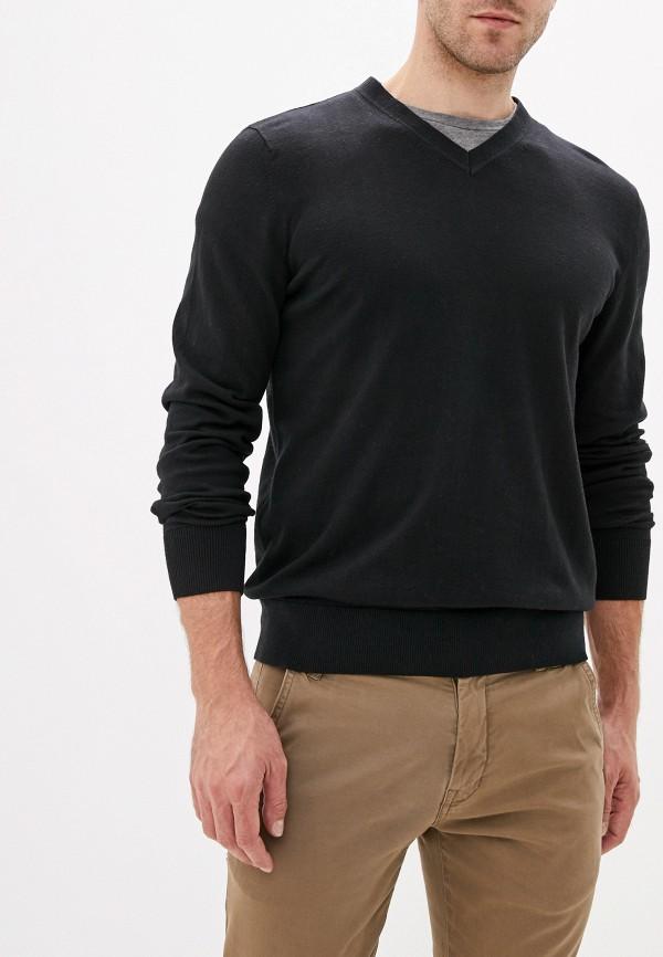 мужской пуловер gap, черный