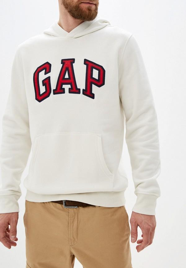 мужские худи gap, белые