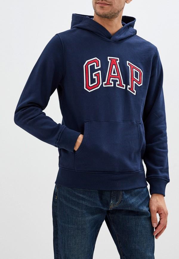 мужские худи gap, синие