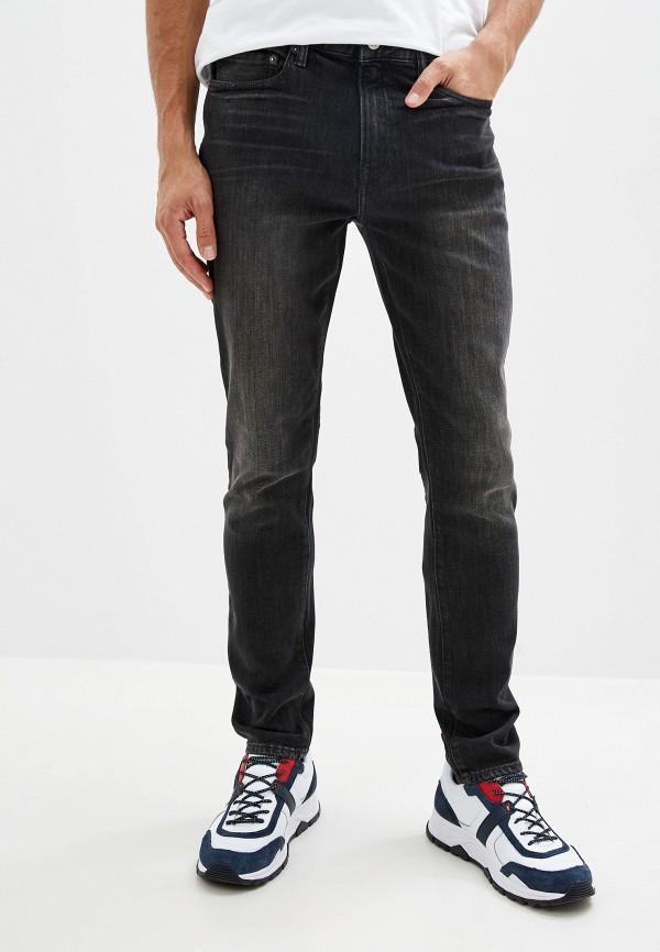 мужские зауженные джинсы gap, серые