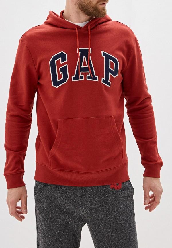 мужские худи gap, красные
