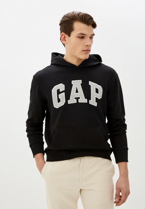 мужские худи gap, черные