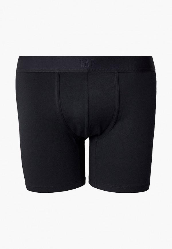 мужские трусы-боксеры gap, черные