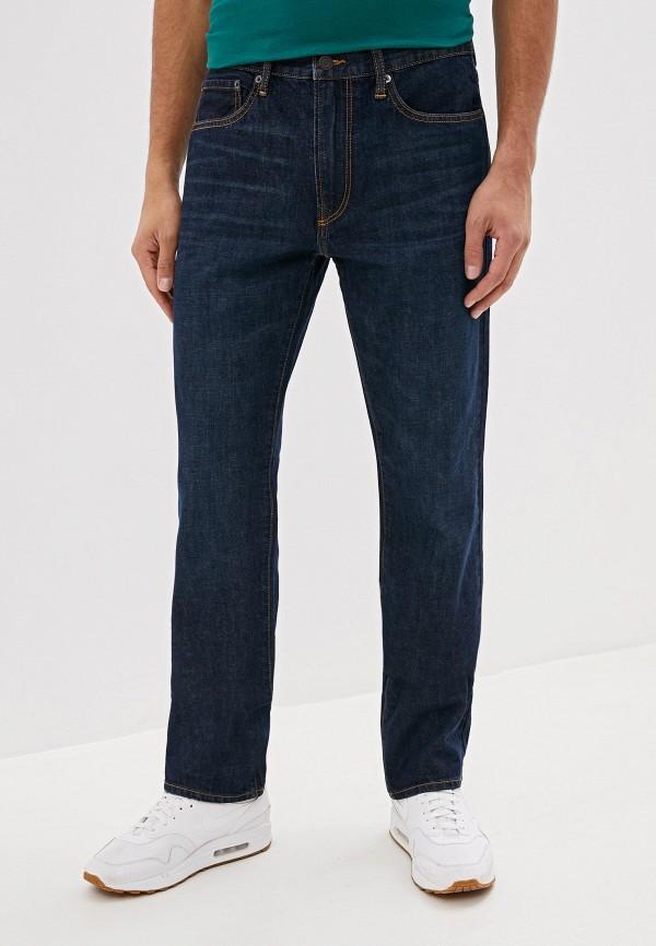 мужские прямые джинсы gap, синие