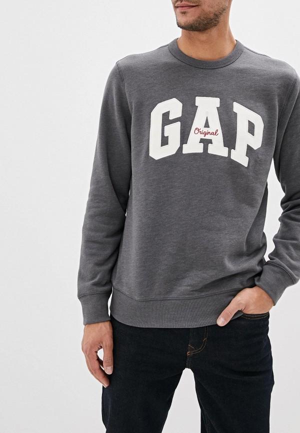 мужской свитшот gap, серый