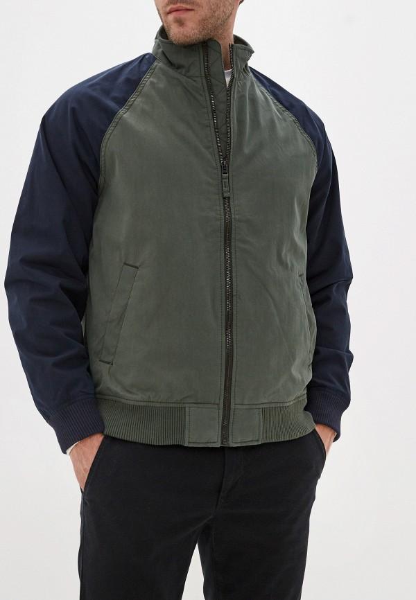 мужская куртка gap, зеленая