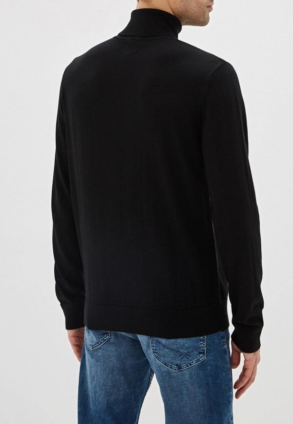 Фото 3 - мужскую водолазку Gap черного цвета