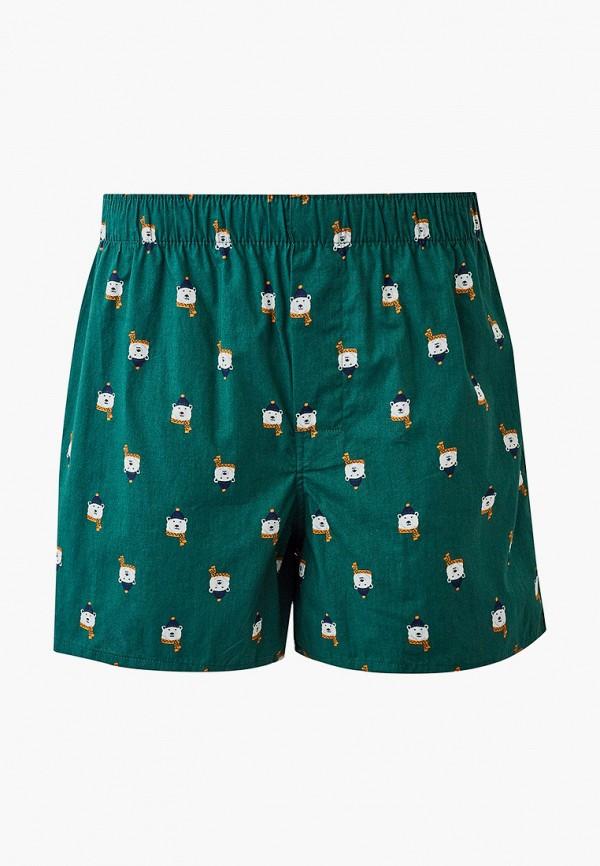 мужские трусы-шорты gap, зеленые