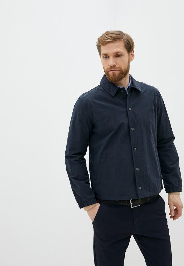 мужская куртка gap, синяя