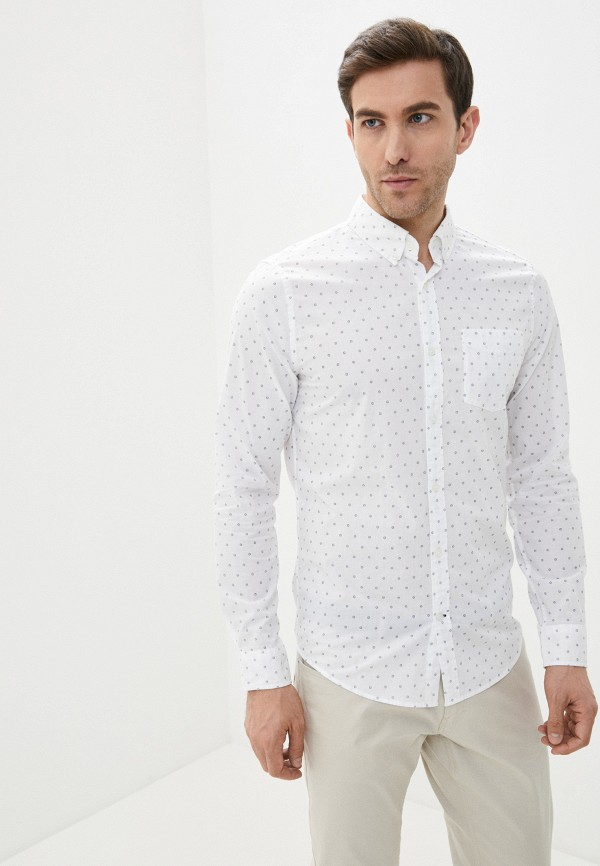 мужская рубашка gap, белая