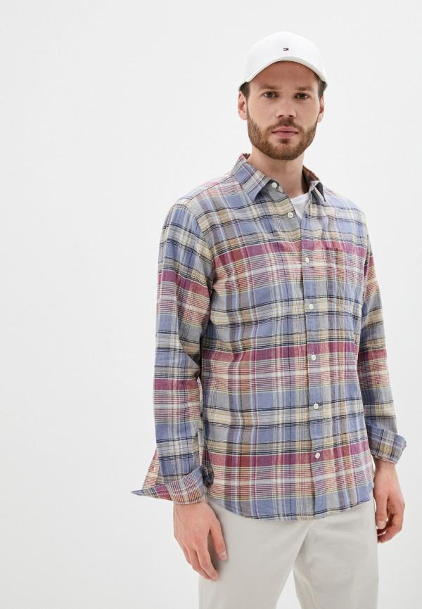мужская рубашка с длинным рукавом gap, разноцветная
