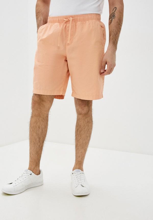 мужские повседневные шорты gap, оранжевые