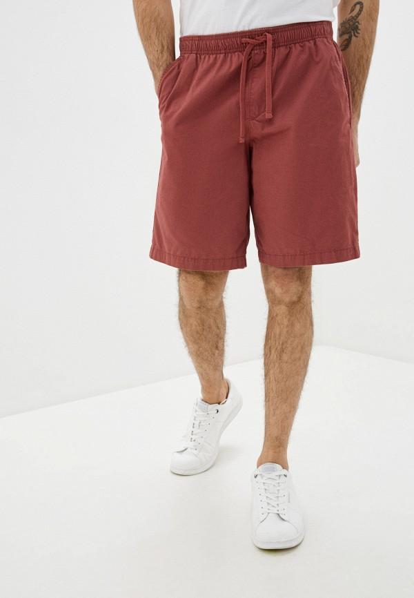 мужские шорты gap, бордовые