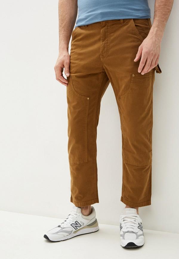 мужские прямые брюки gap, коричневые