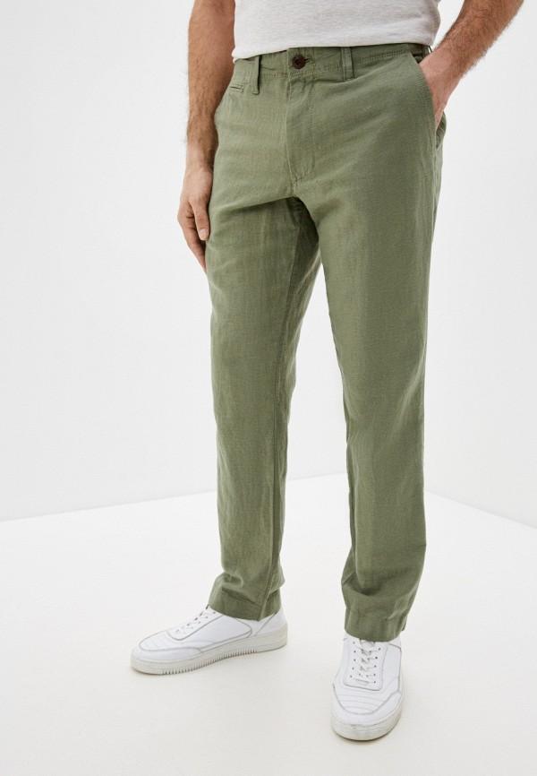 мужские повседневные брюки gap, зеленые