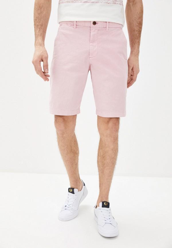 мужские повседневные шорты gap, розовые