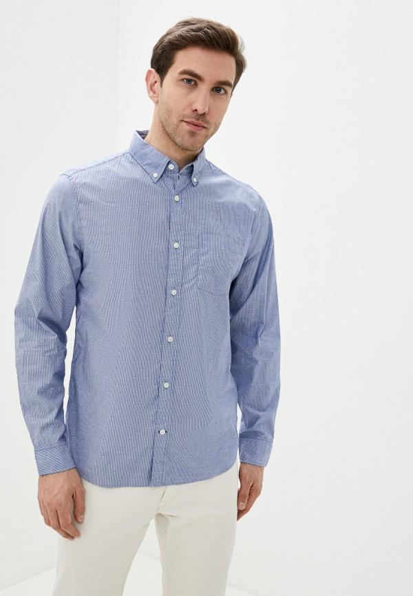 мужская рубашка gap, голубая