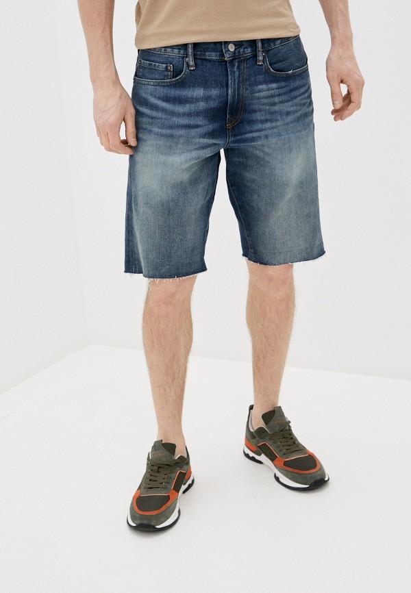 мужские джинсовые шорты gap, синие