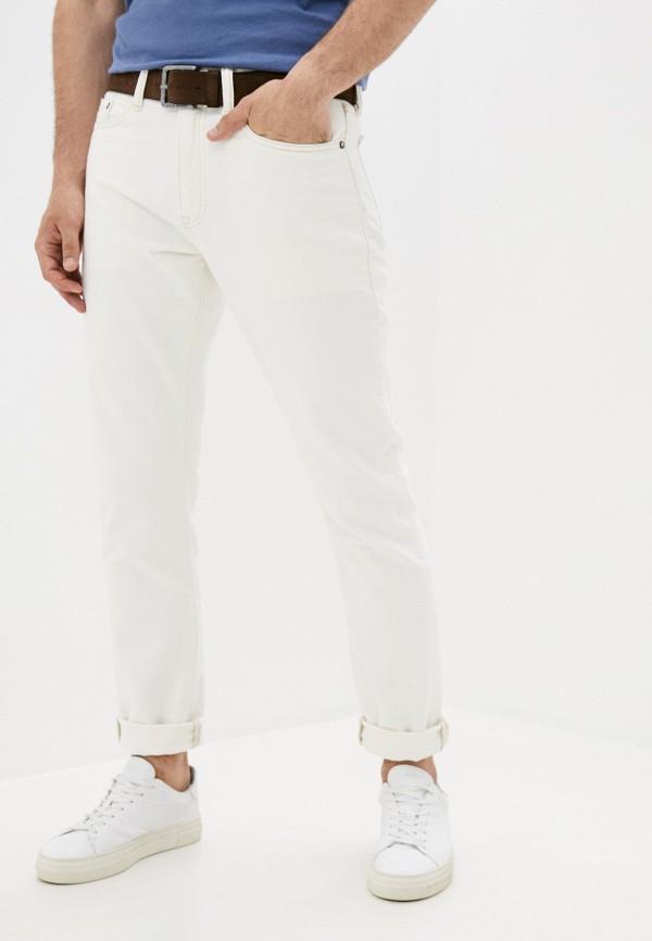 мужские прямые джинсы gap, белые