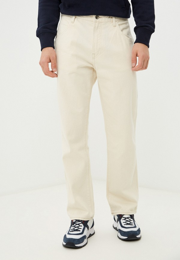 мужские прямые джинсы gap, бежевые