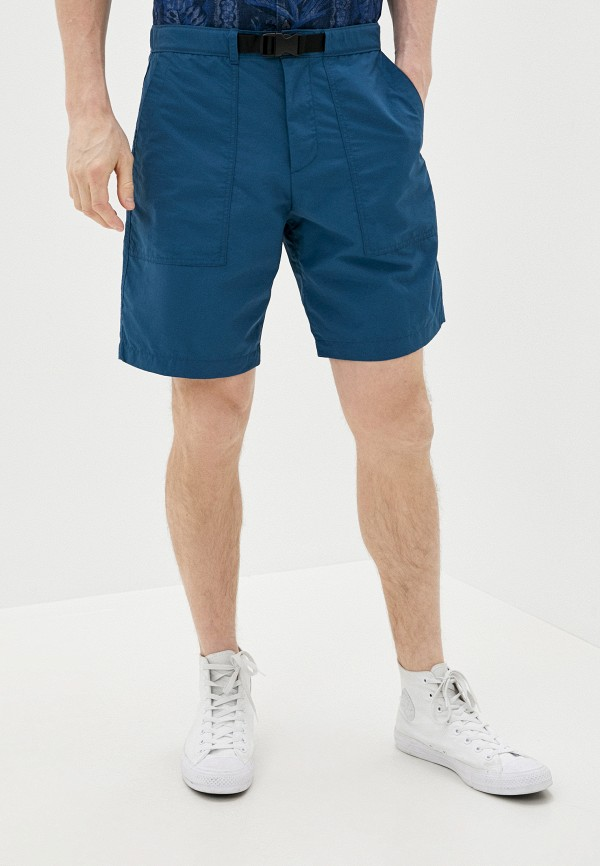 мужские повседневные шорты gap, синие