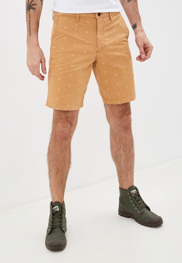 мужские повседневные шорты gap, бежевые